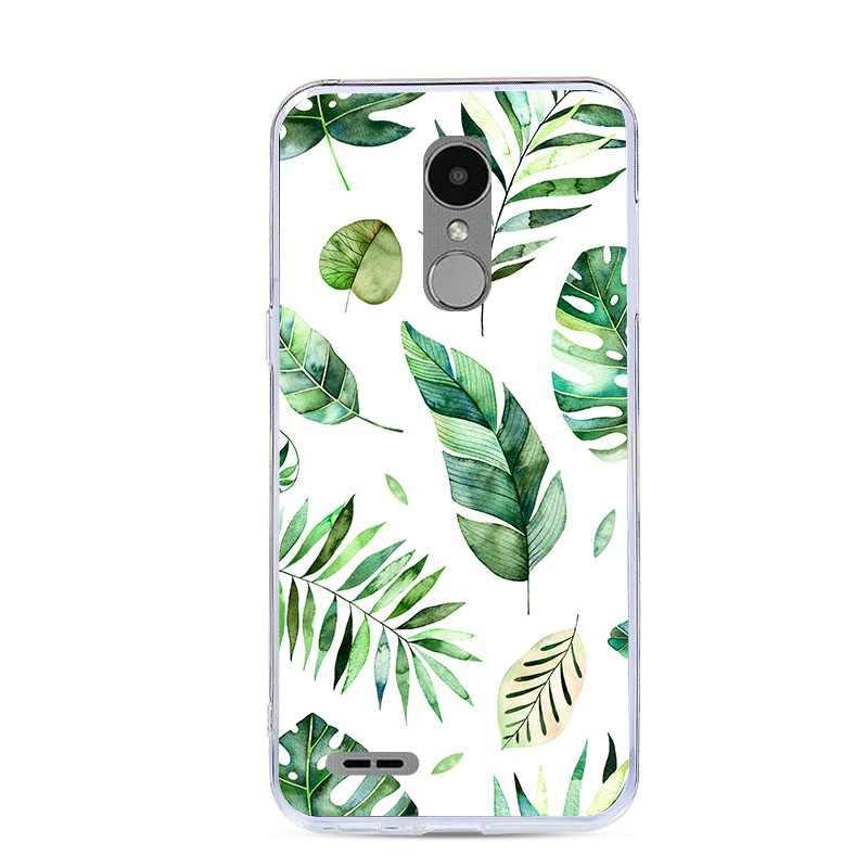 غطاء من السيليكون ل LG K10 2017 M250 الخلفي غطاء ل LG K10 2017 M250N X400 لينة TPU الهاتف حالات 3D لطيف الكرتون اللوحة