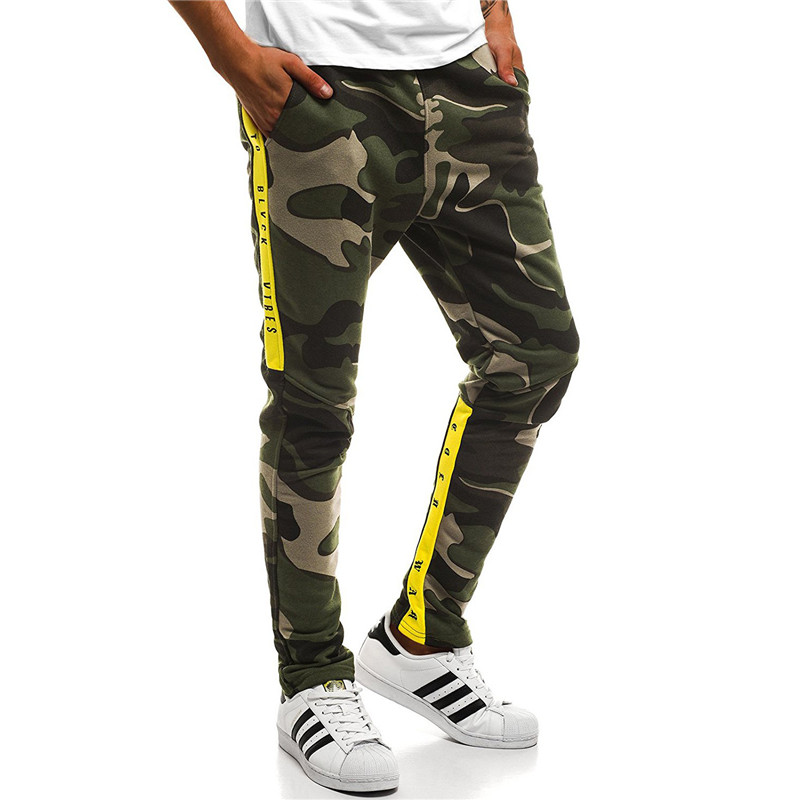 Harem Joggers Pants Men 2018 Hip Hop Fitness Padded Camouflage Print Male Trousers Solid Contrast Color Harem Joggers Pants Men 2018 Hip Hop Fitness Padded Camouflage Print Male Trousers Solid Contrast Color Pants Sweatpants XXXL