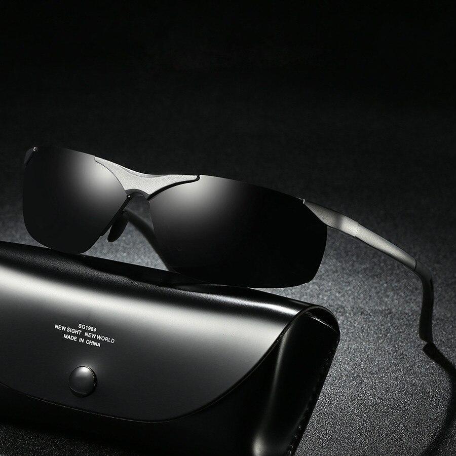 Aluminum Sunglasses Polarized for Men/Women luxury Brand Design Driving Sun glases lunette soleil homme 2019