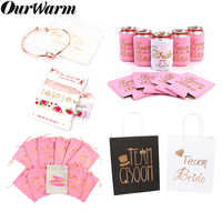 OurWarm Bridesmaid Gift Wedding Party Favors Bags Can Cooler Bride Tribe Favor Bachelorette Party Supplies Bridal Shower Decor