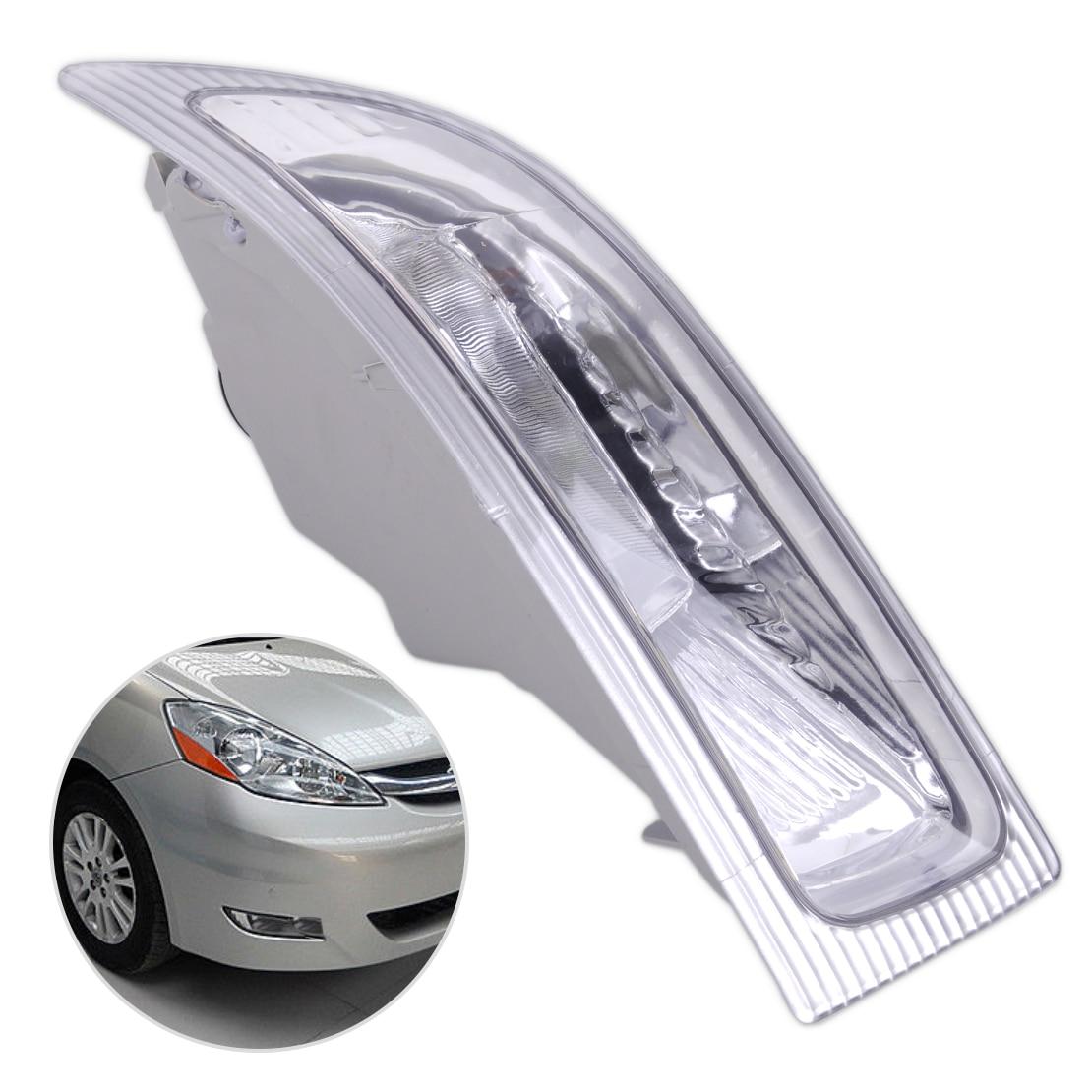 DWCX новый 2-Контактный Автомобильный пластик и металл левая передняя противотуманная фара свет лампы 312-2020L-АФ 81220-AE010, пригодный для Toyota Сиенна 2004 2005
