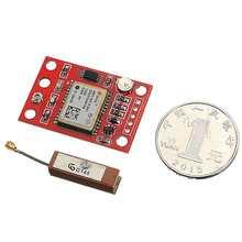 GY gps модуль доска 9600 aud скорость с антенной для Arduino 3 V-5 V Мини Размер с сильным сигналом