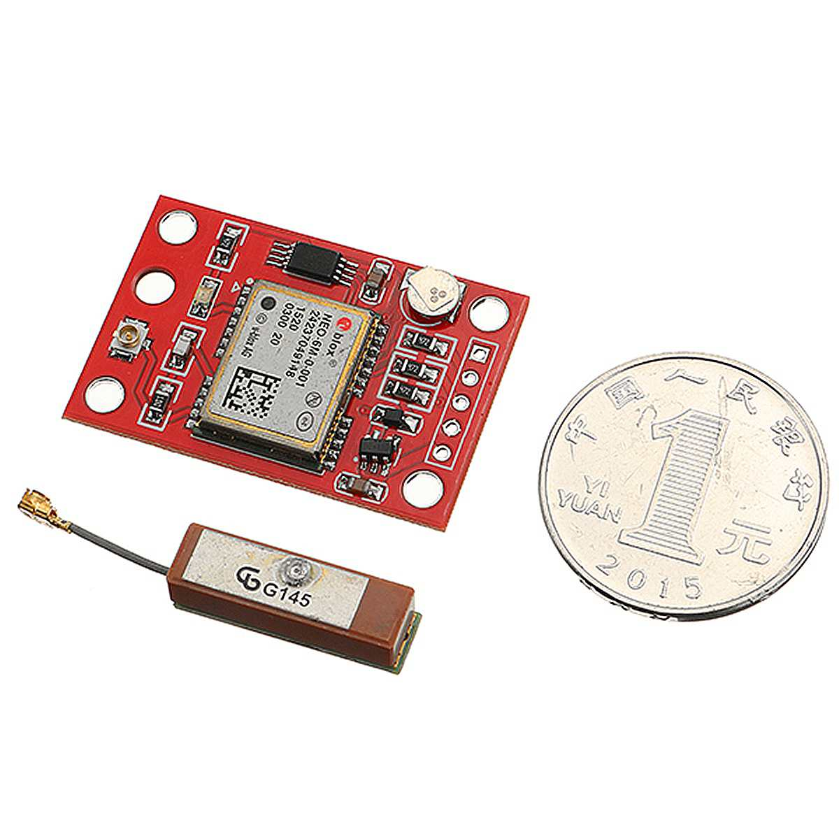 GY GPS Module Board 9600 Baud Rate With Antenna For Arduino 3V-5V Mini Size With Strong Signal