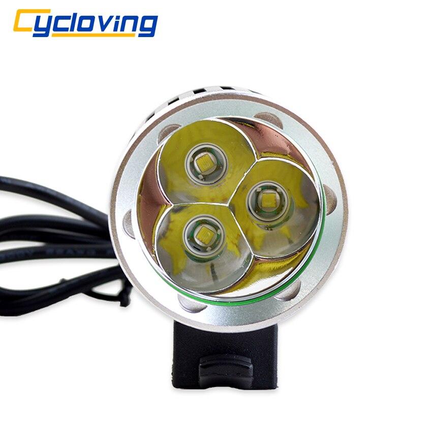 Цена за Cycloving 3t6 светодиодный свет велосипедов велосипед фара велоспорт фары