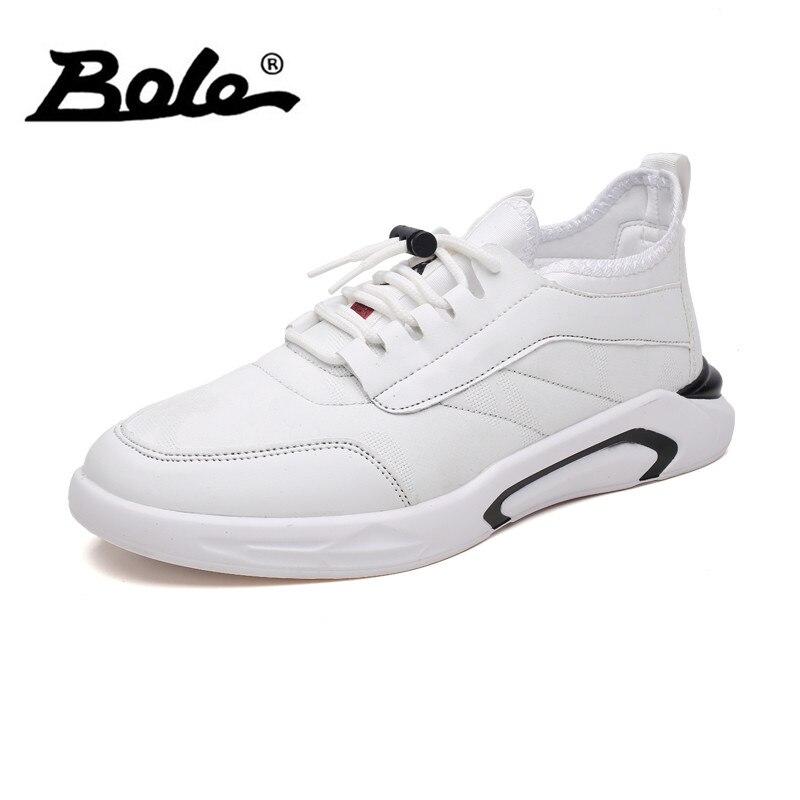 BOLE Hommes Toile Casual Chaussures Printemps Été Respirant Lace Up Sneakers Mode Léger Chaussures Casual Chaussures Hommes