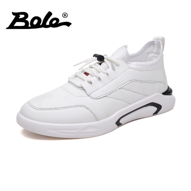 BOLE Men Canvas Casual Shoes Spring Summer Breathable Lace Up Sneakers Fashion Lightweight Footwear Casual Shoes Men bole men canvas casual shoes fashion new design 2018 spring summer breathable men casual shoes lace up men slipony shoes