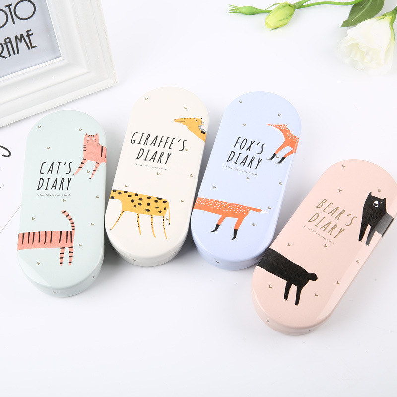 Cartoon Animal Glasses Case High Quality Lovely Hard Glasses Case Cute Eyeglass Sunglasses Protector Box Girls Spectacle Case