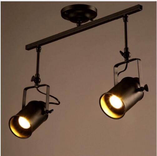 Retro Indoor Lighting Iron Pendant Light Fixture Decoration Lamp Free Shipping