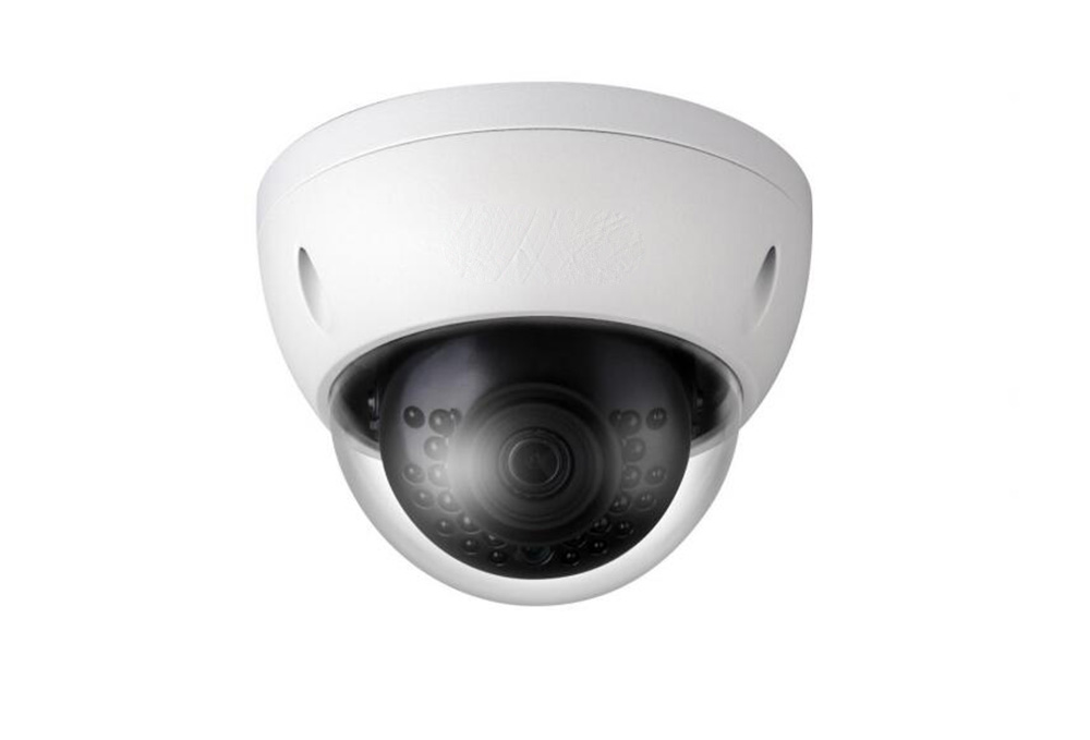 DAHUA 4MP WDR Network Vandalproof IR Mini Dome Camera with Fixed Lens IP67 without Logo IPC