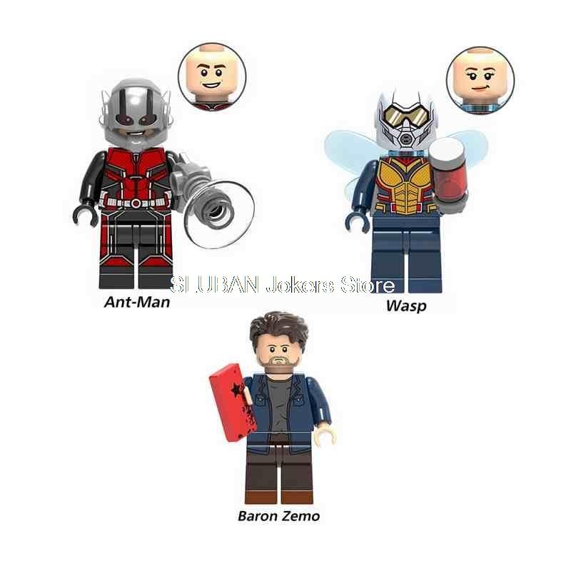 Toys & Hobbies Single Sale Xh908 Ghost Legoing Marvel Building Blocks Toys For Children Compatible Legoings Super Heroes Ant Man Figures Bricks