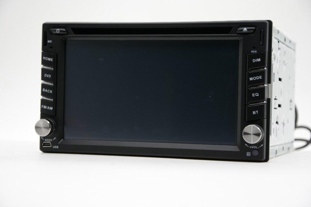 2din Car DVD player GPS Radio Bluetooth 2 din universal for X-TRAIL Qashqai x trail juke for nissan Stereo Radio Bluetooth USB