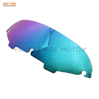 4 1 2 Motorcycle Front Windshield Windscreen Case For Harley Electra Street Glide Touring 1996 2013