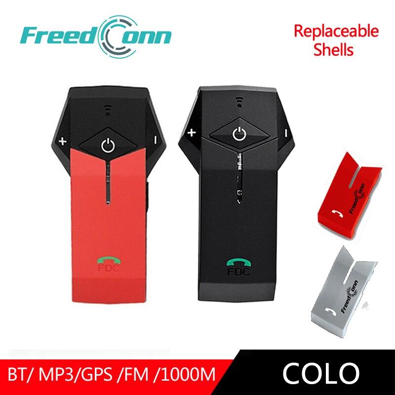 FreedConn 2 pc COLO sac à dos pour filles casque bluetooth avec Microphone Interphone Communicateur Écouteurs Remplaçable Shell