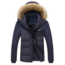 European Size Mens Heavy Winter Coats Jackets 2017 Brand Clothing Warm Winter Jackets Men Quilted Jacket Cotton Padded Coat
