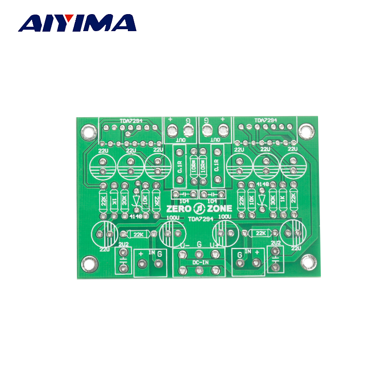 Aiyima TDA7294 Double Canal Pur Aamplifier Nu PCB 50 W
