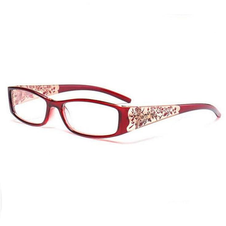 Magnetic Printing Reading Glasses Women Anti-Fatigue Anti-Radiation Diopter Presbyopic +100+150+200+250+300+350+400