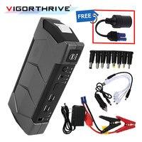 Для автомобильного пускового устройства с фонариком и молотком портативный набор инструментов 12 в мини-стартер для автомобиля Booster Зарядно...