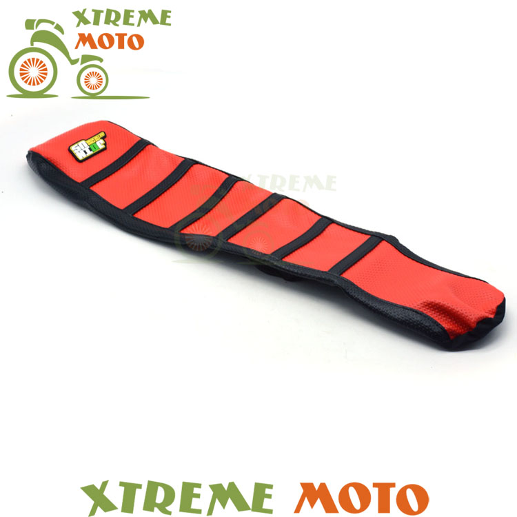 Red Rubber Gripper Soft Seat Cover For Honda CRF150R CRF 150R 2006- 2016 2017 Motorcycle Motocross Enduro Dirt Bike Off Road red rubber gripper soft seat cover for honda crf150r crf 150r 2006 2016 2017 motorcycle motocross enduro dirt bike off road