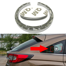 For Ford Logo Metal Sticker Rear Windshield Emblem Car Tuning For Fiesta Fusion Focus Mondeo EcoSport Everest Expedition Explore
