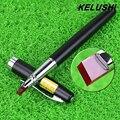 KELUSHI Convenient Portable Ruby Optical Fiber Pen Fiber Cutting Pen Fiber Cleaver Pen Ruby Fiber Optic Scriber(Red)