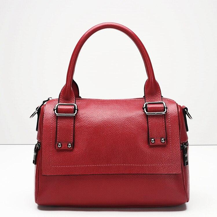 ФОТО Fashion brand  genuine leather women handbag Top grade  All-match mi ni shoulder bags