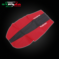 Leather Cover Seat Leather Waterproof For SUZUKI DR200 Motorcycle Accessories