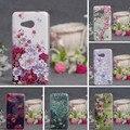 Luxo nova capa pintura case para microsoft nokia lumia 550 telefone case voltar suave tpu case capa para microsoft lumia 550 shell