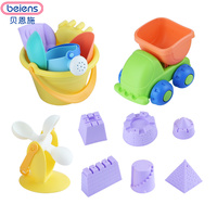 Beiens Beach Tools Set Sand Playing Toys 14pcs Set Kids Fun Sand Toy Water Beach Outdoor