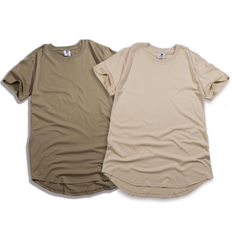 الأزياء الصلبة قوس قطع قصيرة يورو حجم الهيب هوب بلايز الرجال لون نقي الرجال ملابس رجالي الهيب هوب ملابس الشارع الشهير