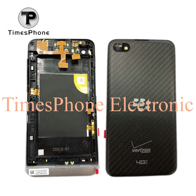 US $49 0 |Original Full Housing Replacement Parts For Blackberry Z30 Full  Housing Complete + Battery Door Back Cover Housing Free Shipping-in Mobile