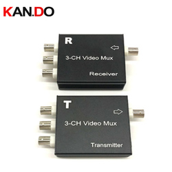 cctv Multiplexer up to 400m Transmission Distance CCTV Camera Transmitter 3CH Video Multiplexer for Security System