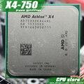Бесплатная доставка AMD X4 750 Quad-Core FM2 3.4 ГГц 4 МБ 65 Вт процессор шт X4-750 (рабочая 100%) 750, есть, продаем X4 760