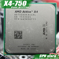 Free shipping  AMD X4 750 Quad-Core FM2 3.4GHz 4MB 65W CPU processor  pieces X4-750 (working 100%)  750 ,there are, sell X4 760