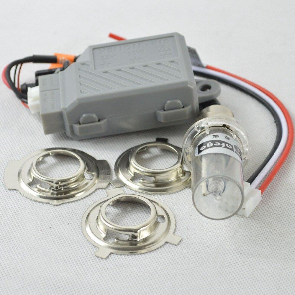 1set motorcycle hid lights xenon headlight bulbs h4 6000k bixenon moto hid kit bi xenon. Black Bedroom Furniture Sets. Home Design Ideas