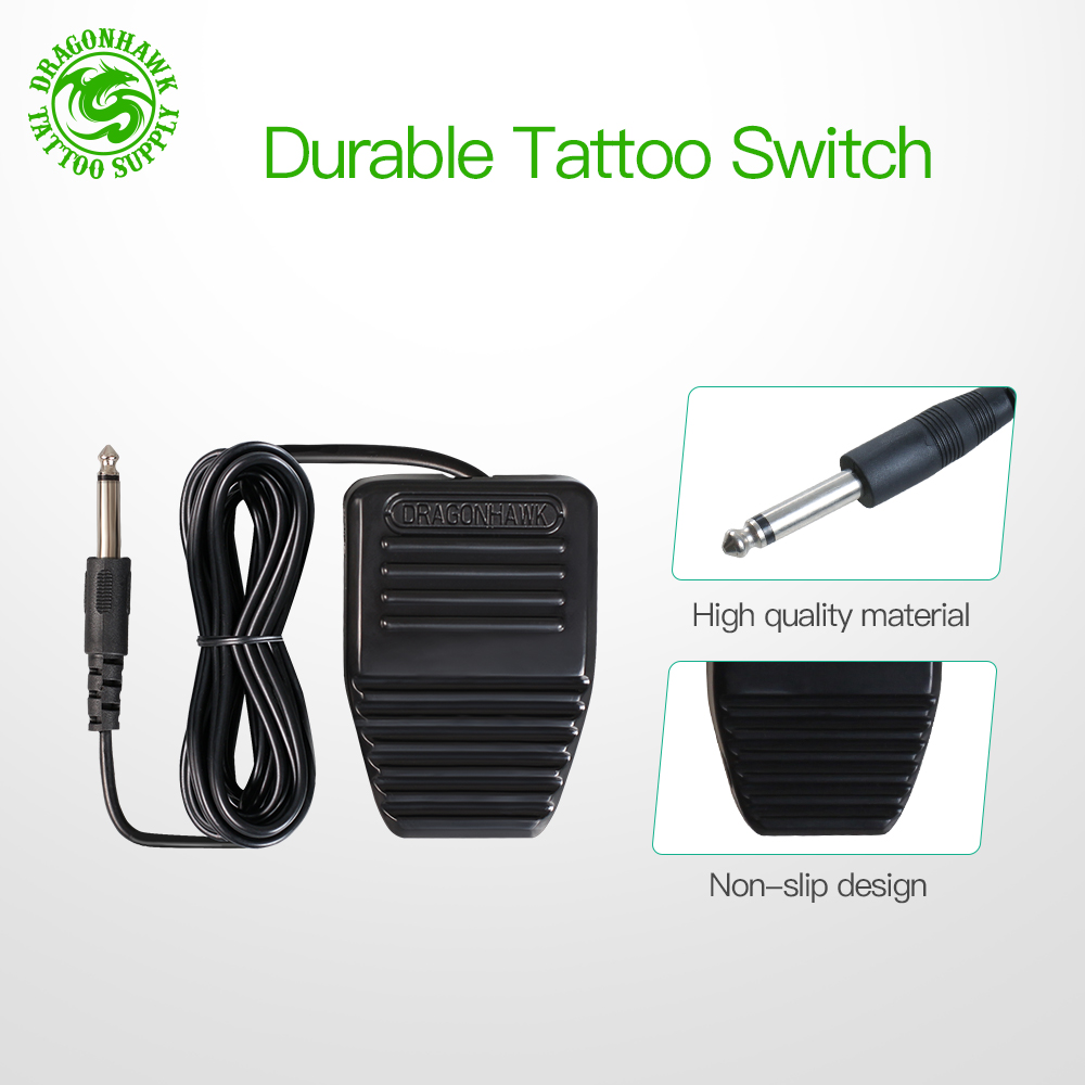 Tattoo Rotary Machine Pen Style Set Tattoo Kit LCD Power Pedal Tattoo Supply Free Delivery Permanent Makeup Machine Assortment 4