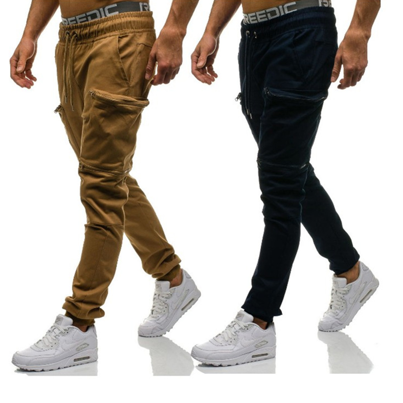 Men Pants 2019 New Hip-hop Fashion Men Jogger Pants Men Fitness Bodybuilding  Pants For Runners Clothing springtim Sweatpants