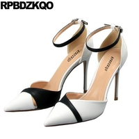 Thin Ultra Plus Size White Party Shoes For Women Extreme Super 10 42 Pointed Toe Customized