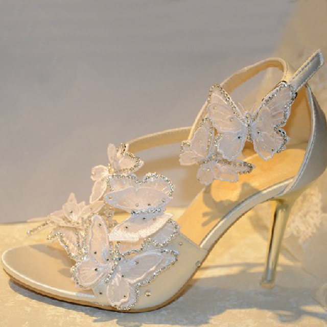 Beautiful Summer Sandals Wedding Shoes Beautiful Bridal Dress Shoes ...