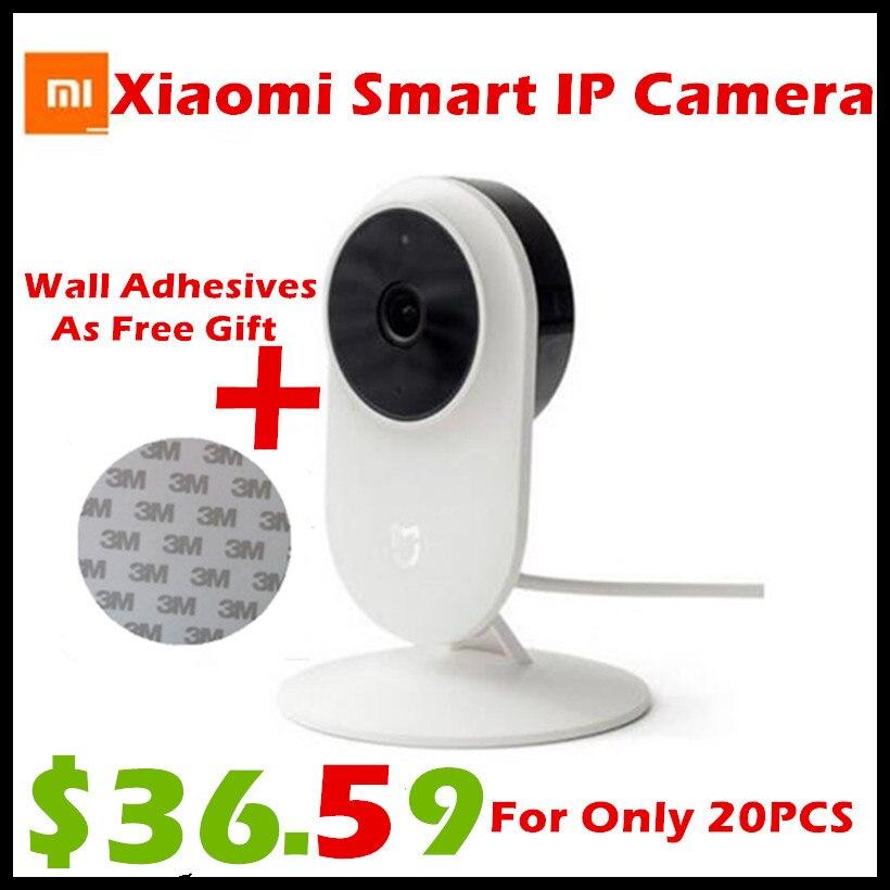 D'origine Xiaomi Mi Mijia 1080 P Smart ip Webcam 130 Degrés 2.4G/5G Wi-Fi 10 m Infrarouge de Vision Nocturne + NAS Mic Haut-Parleur Maison Cam