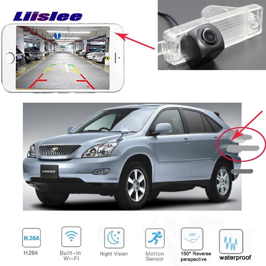 LiisLee voiture caméra de recul sans fil pour toyota RAV4 EV Europe Vanguard 2005 ~ 2012 XA30 voiture HD CCD caméra de recul de nuit