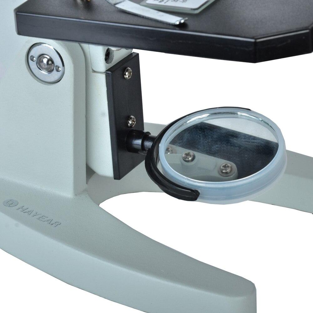 40X-640X Kit de Microscopes biologiques pour étudiants éducatifs enfants jouets cadeau équipement de laboratoire scolaire en métal - 4