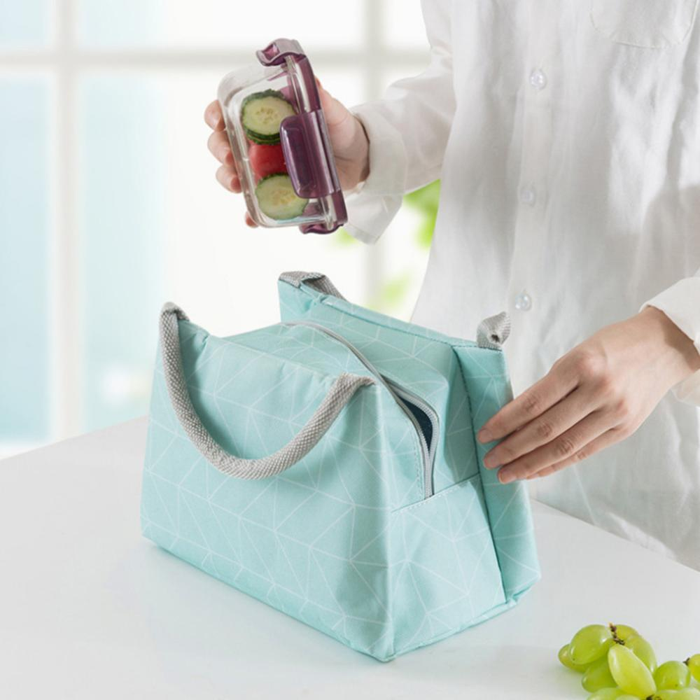 51d4a84104a5 US $2.99 42% OFF|Reusable Lunch Box Tote Bag Insulated Lunch Bags Grocery  Pouch For Women Men Kids Work School Picnic Camping &xs-in Storage Bags  from ...