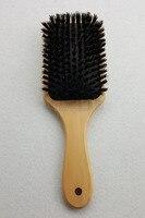Ahşap Saç Fırçası Domuzu Kıl Mix Naylon Saç Fırçası Paddle Saç Fırçası Saç Uzatma Fırça GIC-HB571 (1 parça) ücretsiz Kargo