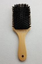 Wooden Hair Brush Boar Bristle Mix Nylon Hair Brush Paddle Hair Brush Hair Extension Brush GIC-HB571 (1 piece) Free Shipping free shipping wooden hair brush with boar bristle mix nylon styling tools professional round hair brush 6pcs set