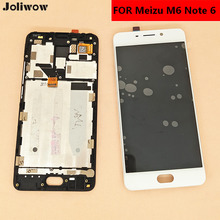 FOR Meizu M6 Note/note 6 M721H M721Q M721M LCD Display Touch Screen with frame+Tools Assembly Replacement for 5.5 inch цена и фото