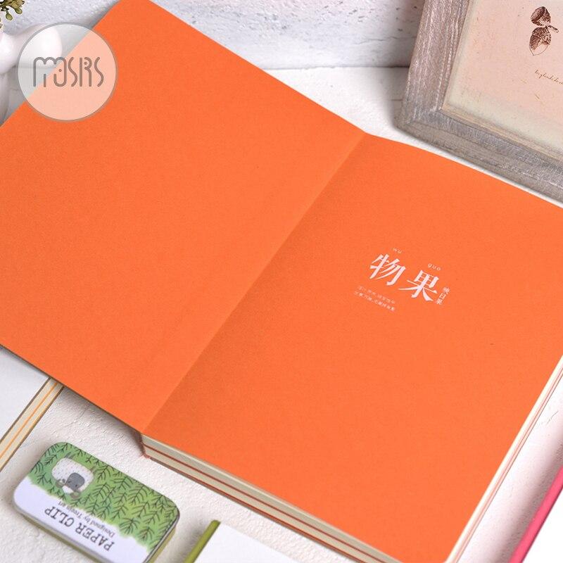 Cadernos escola suprimentos presente Size : 125x185mm