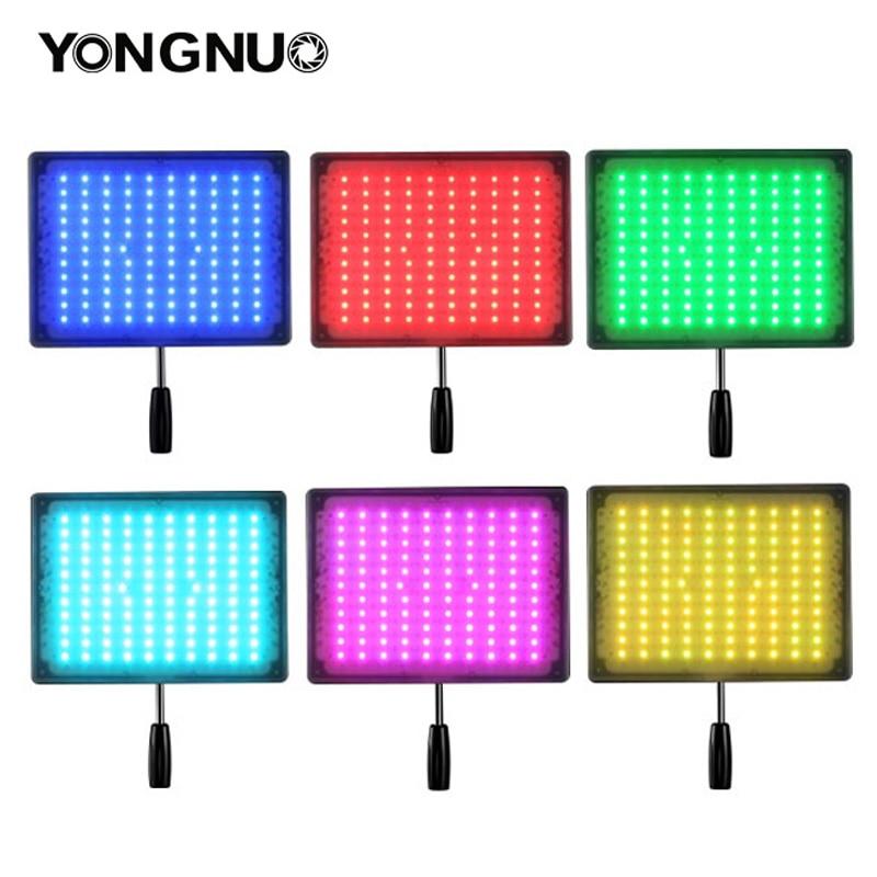 bilder für Yongnuo yn600 rgb led foto kamera video licht 3200 karat-5500 karat lampe panel mit wireless bluetooth remote