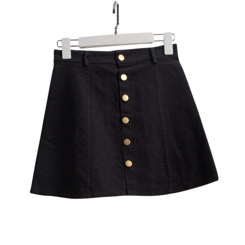 Home&Nest 2020 Summer Female Work Skirt Women's Fashion Waist Skirt Korean Style Denim Skirt Spodnica Damska Rokjes Dames #0513