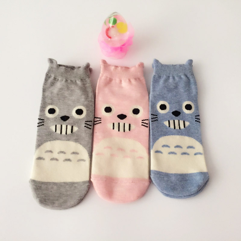 Women Socks Cotton Funny Short Socks Women Cute Socks Cartoon Animal Women  3D Print  Chinchillas Socks cosplay