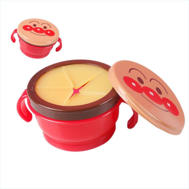 Детские закуски чаша Для детей Еда хранения блюда анти разлива 360 Поворот, кормления пластины посуда детское питание вещи
